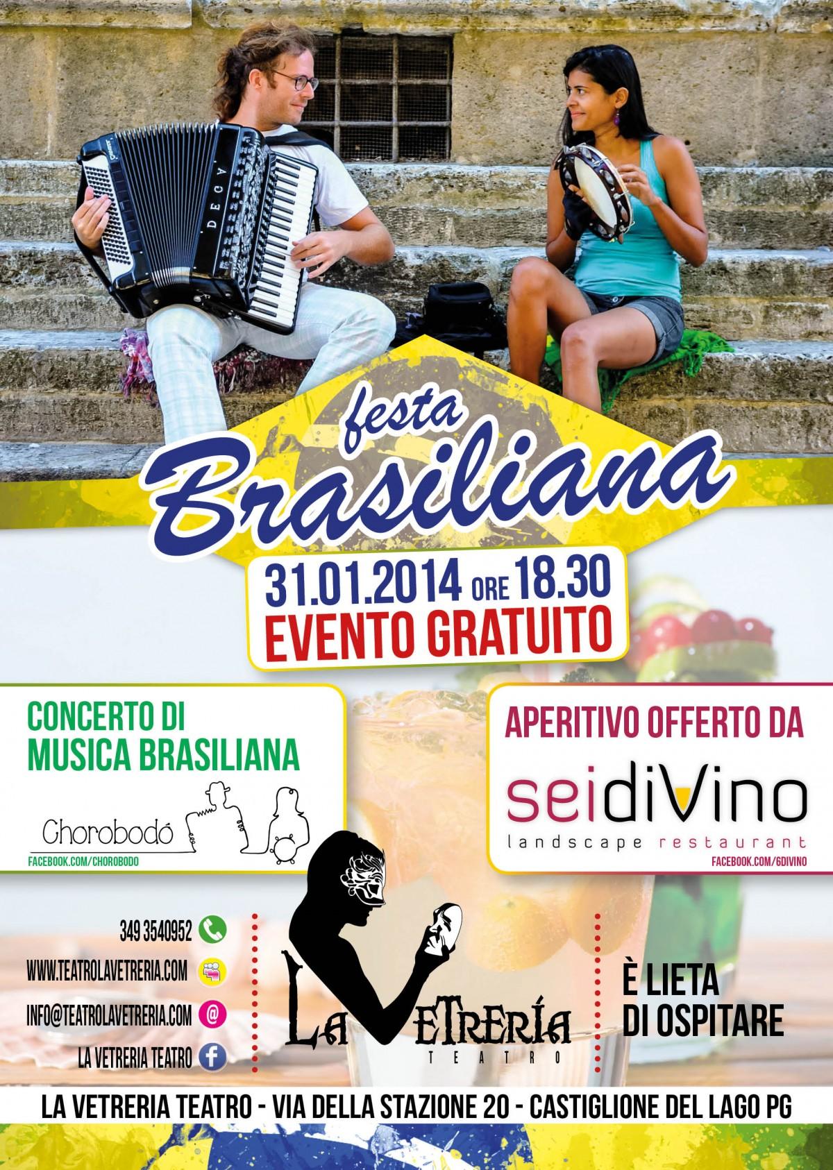 A3 locandina brasile